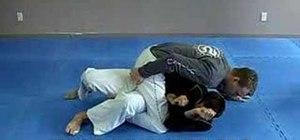 Do a Jiu Jitsu knee to elbow mount escape