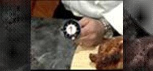 Use a meat thermometer