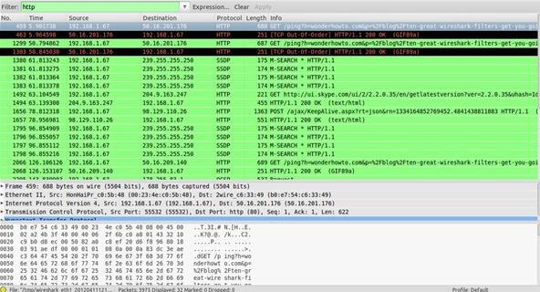 8 Wireshark Filters Every Wiretapper Uses to Spy on Web Conversations and Surfing Habits