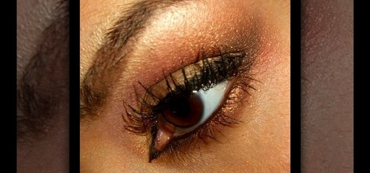 How To Get Moroccan Eyes With Gold Brown Shades Makeup