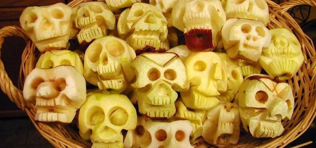 How to Make Shrunken Heads Out of Apples & Potatoes
