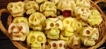 Halloween Food Hacks: How to Make Shrunken Heads Out of Apples & Potatoes