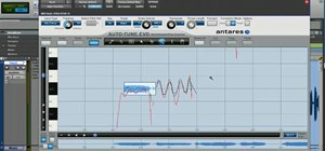 Use Antares Auto-Tune Evo in Graphical Mode in Pro Tools 8