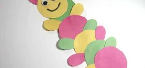 Make a paper caterpillar with your kids