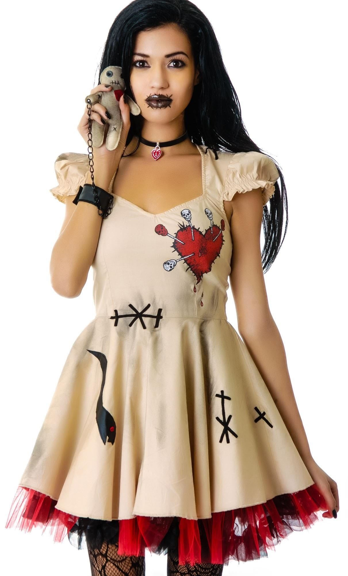 Be a Human Pincushion for Halloween: DIY Voodoo Doll Costume ...