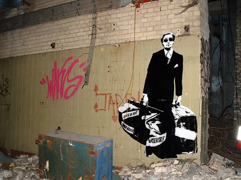 The Godfathers of Street Art. (non-letter based)