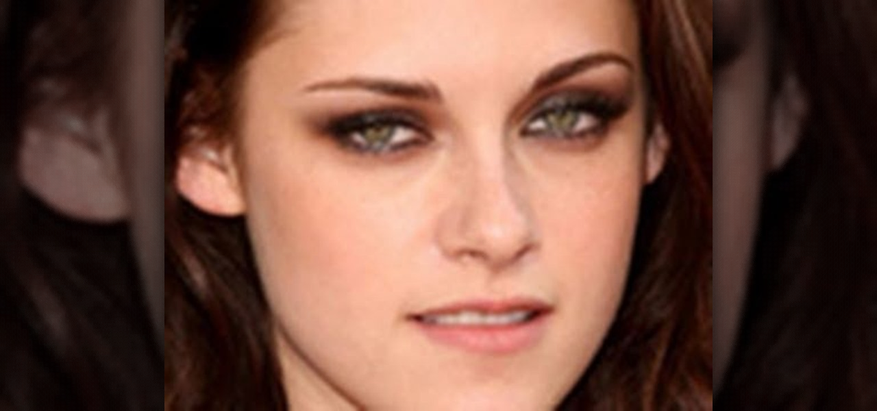 How to Create a Kristen Stewart smokey eye look from ...