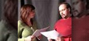Impress a casting director