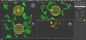 Create particle effects in Autodesk 3ds Max 2011