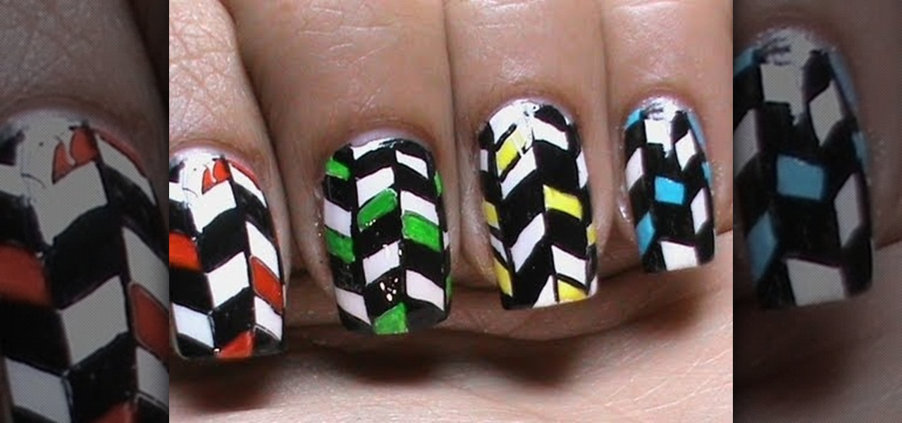 Do Nail Art Pattern Design!