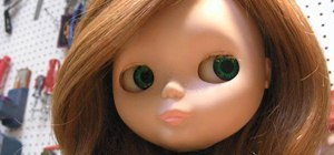Customize your Blythe doll by rerooting her hair