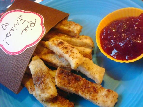 HowTo: Deliciously Sweet Pie Crust French Fries