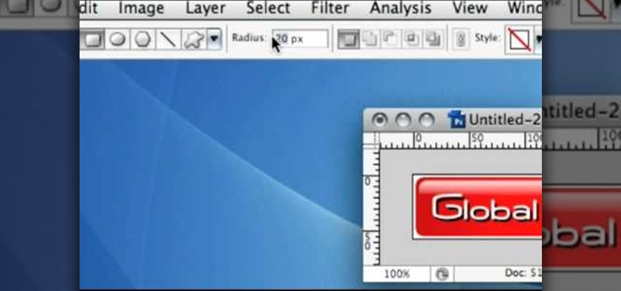 How to Create a shiny button in Photoshop « Photoshop