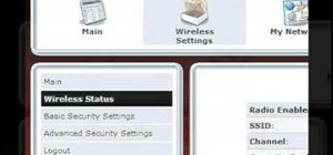 Change a wireless network name Verizon's FiOS Router