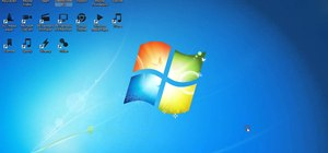 Change the taskbar icons in Windows 7