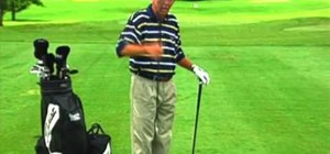 Use proper alignment to cure push shots in golf