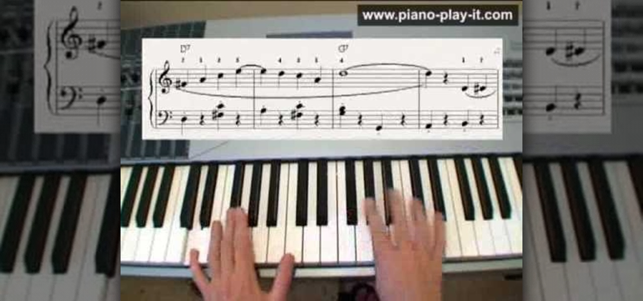 "How to Play ""The Entertainer"" by Scott Joplin on piano ..."