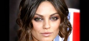 Create a Mila Kunis makeup look with MakeupGeek