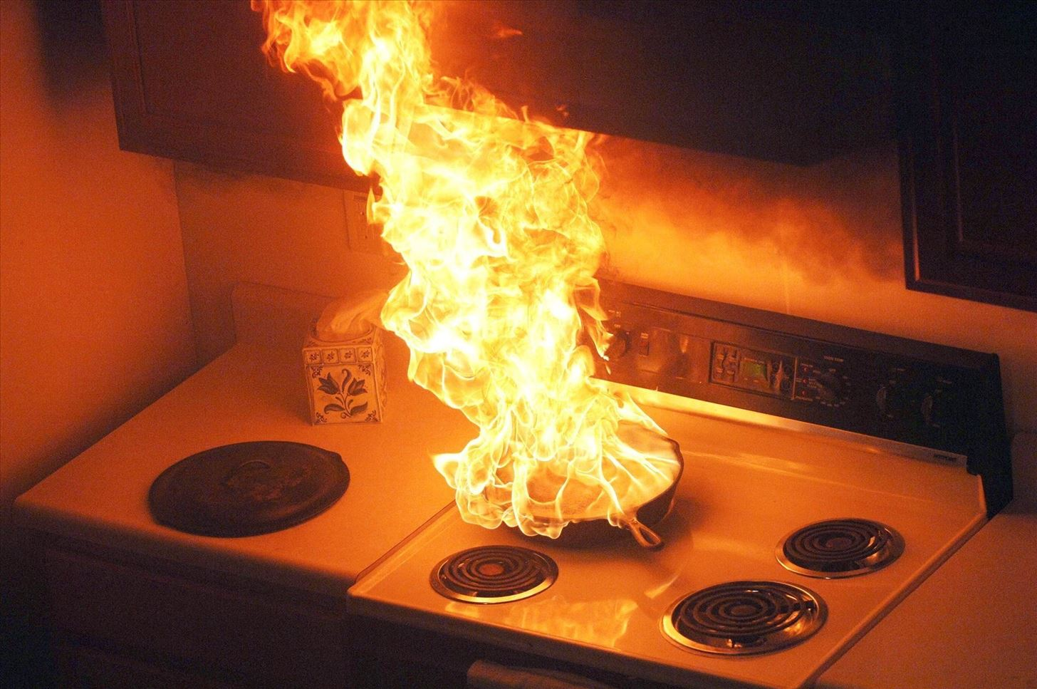 Image by State Farm/Flickr & How to Safely Put Out a Grease Fire (And Prevent Them Altogether ...