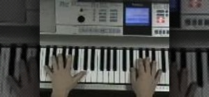 Play Over My Head Cable Car by The Fray on piano