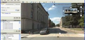 Use street view in Google Earth