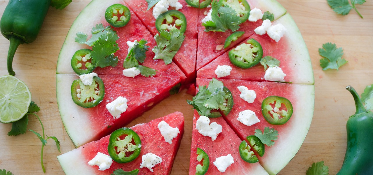 5 Ways to Turn Watermelon into Sweet & Savory Pizzas