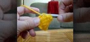 Start a crochet blanket