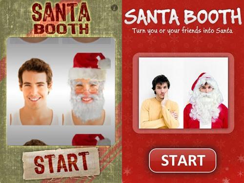 Transform Yourself Into Santa This Christmas with Santa Booth