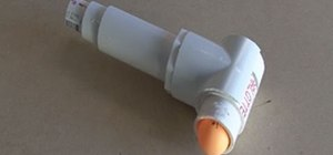 Make a simple, easy ping pong ball launcher from PVC called the Ping Ponger