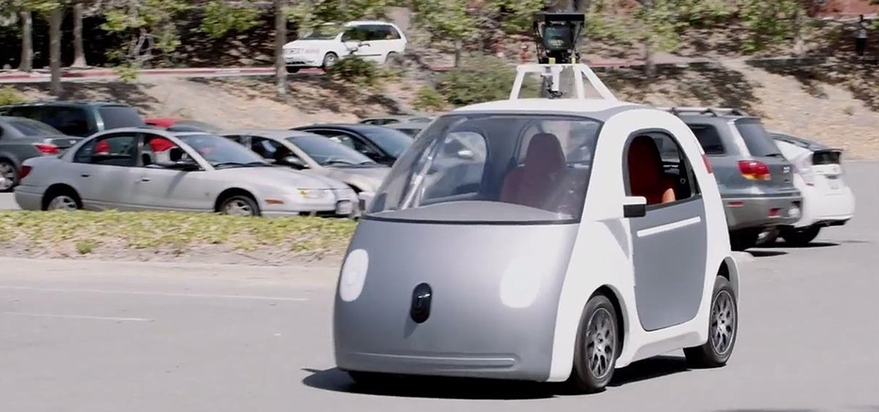 Google's Self-Driving Car Is Here & You've Gotta See This Thing in Action