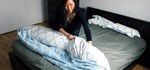 The Duvet Burrito: How to Put a Duvet Cover on Your Comforter the Easy Way