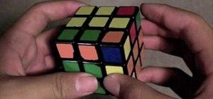 Use multislotting to solve a Rubix Cube
