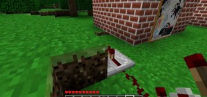 Build a secret door in Minecraft