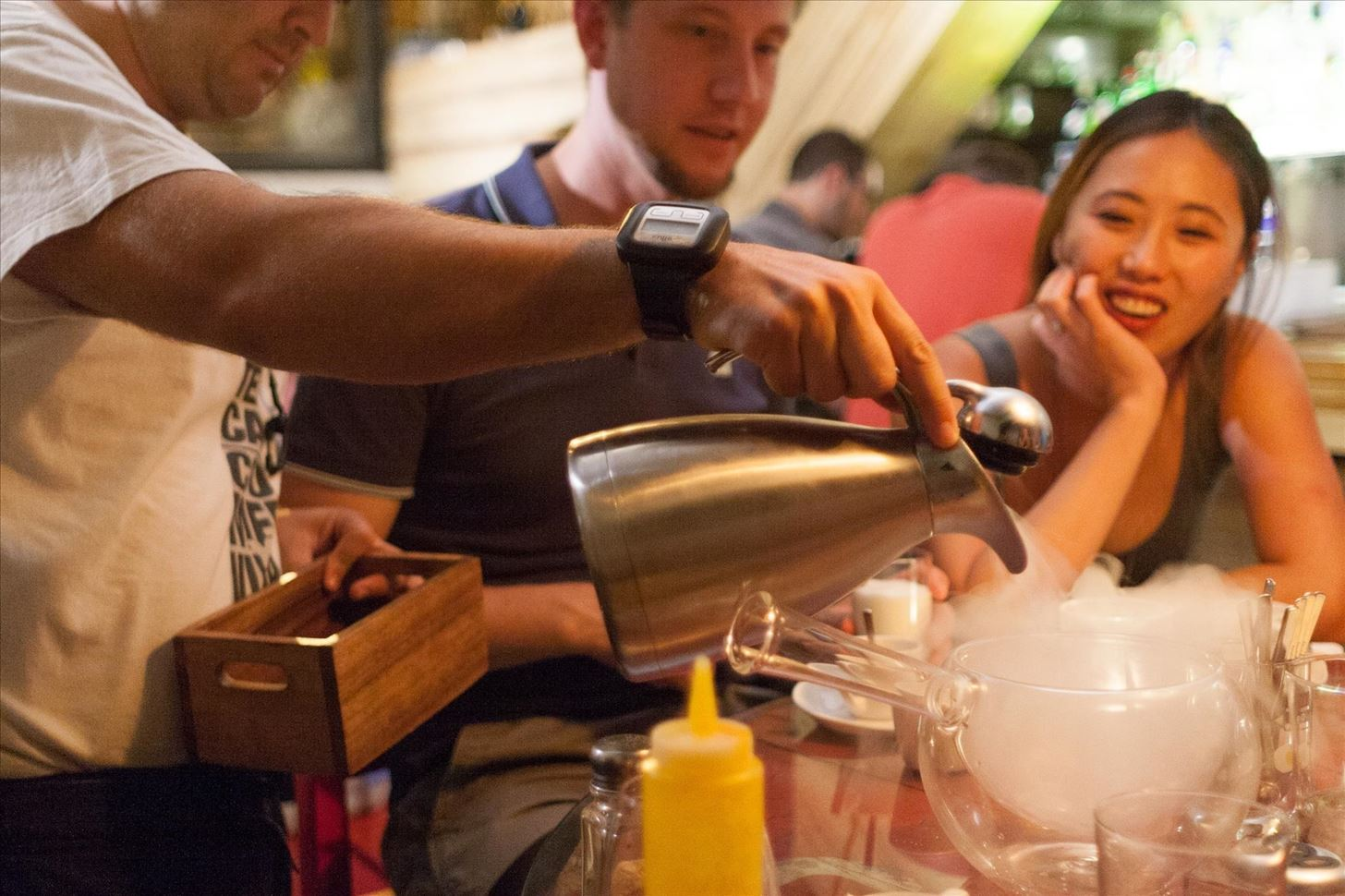 Weird Ingredient Wednesday: Liquid Nitrogen, the Trendiest Element in Modern Cooking