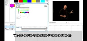 Chroma key or green screen in Sony Vegas Pro