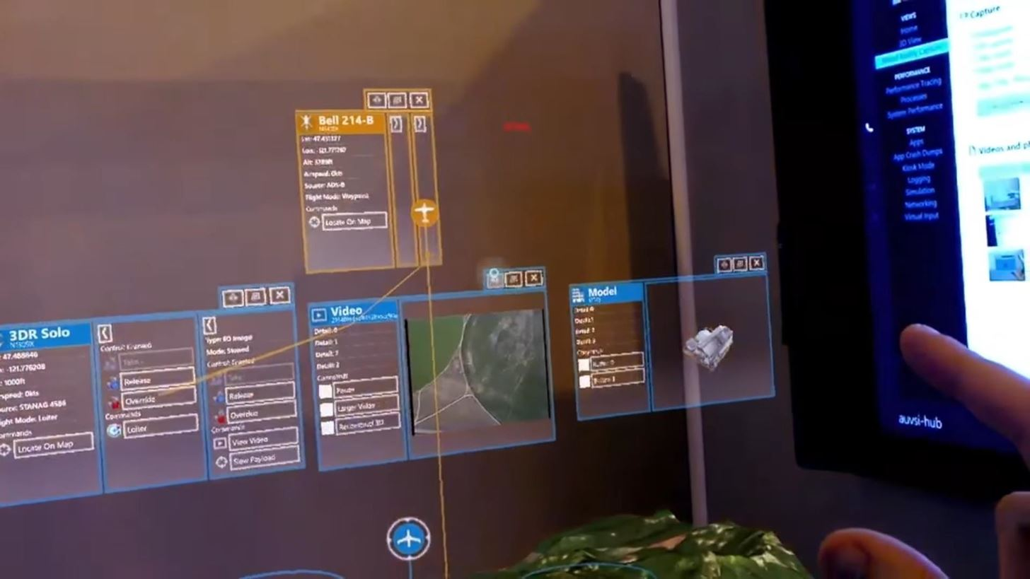 Boeing Is Fighting Wildfires with the Microsoft HoloLens & Large Drones