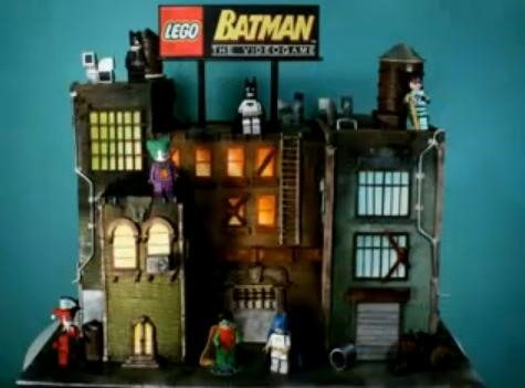 LEGO Batman Cake Making of Video