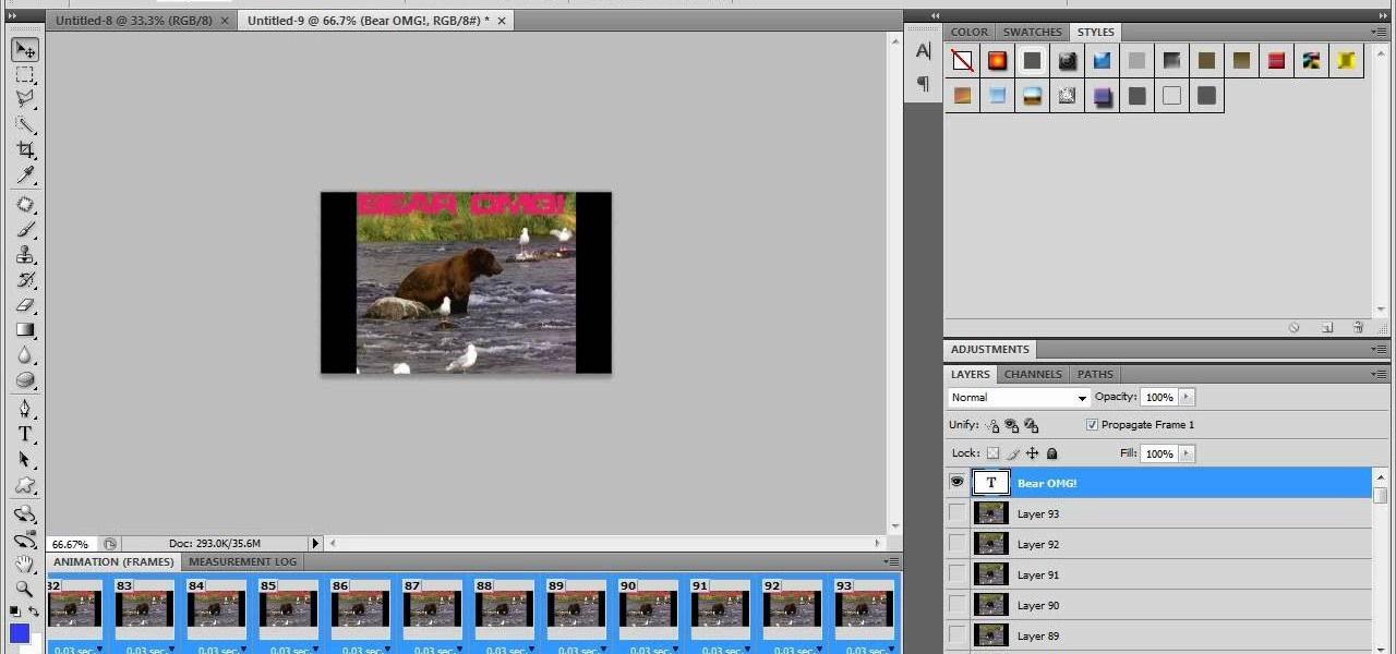 """How to Make a GIF from video in Photoshop CS4 """" Photoshop :: WonderHowTo"""