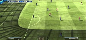 Control the Goalkeeper in the demo of Fifa 12