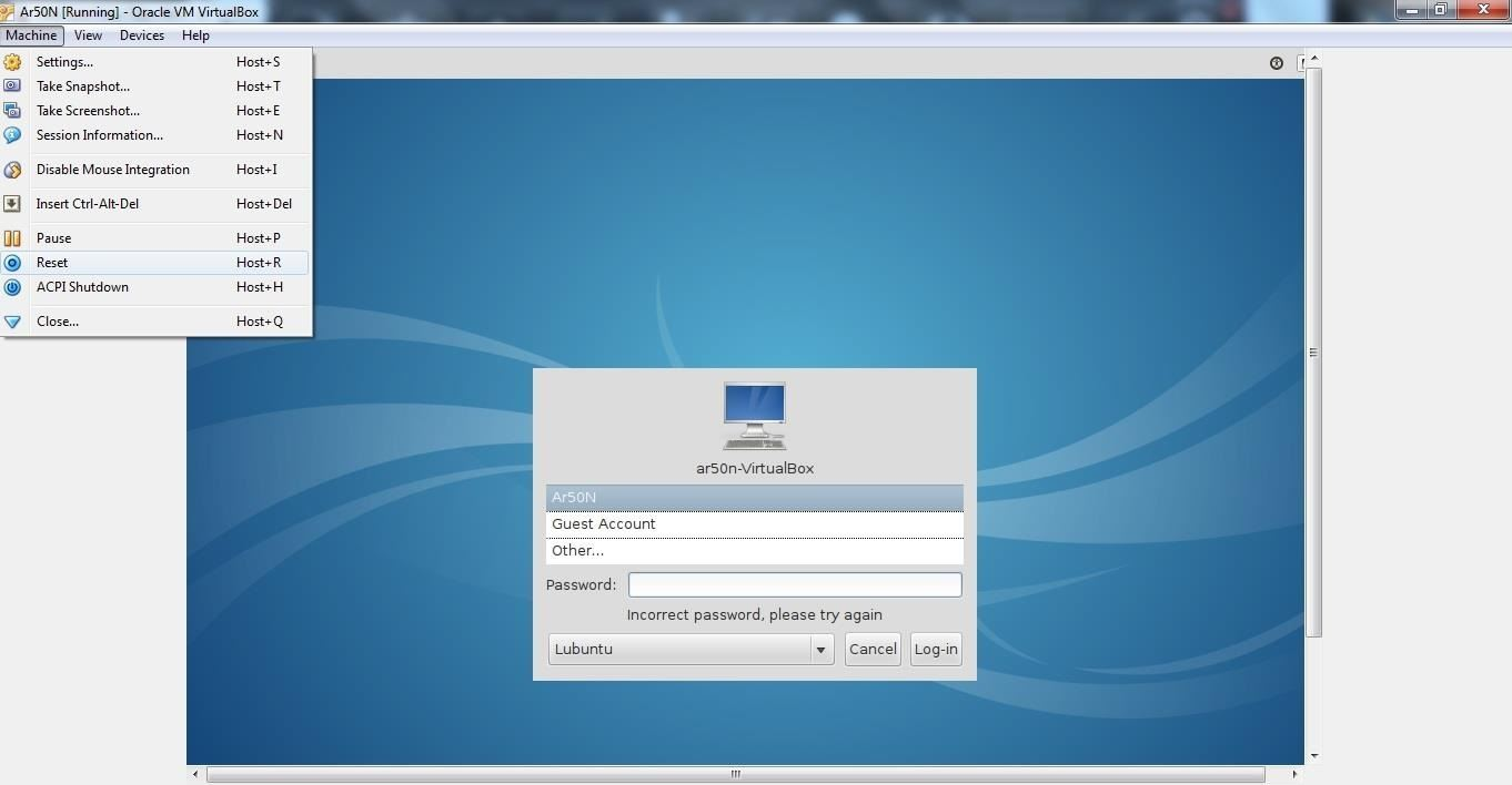 How to Regain Access to Lubuntu After Loss of Password (Windows 7 ...