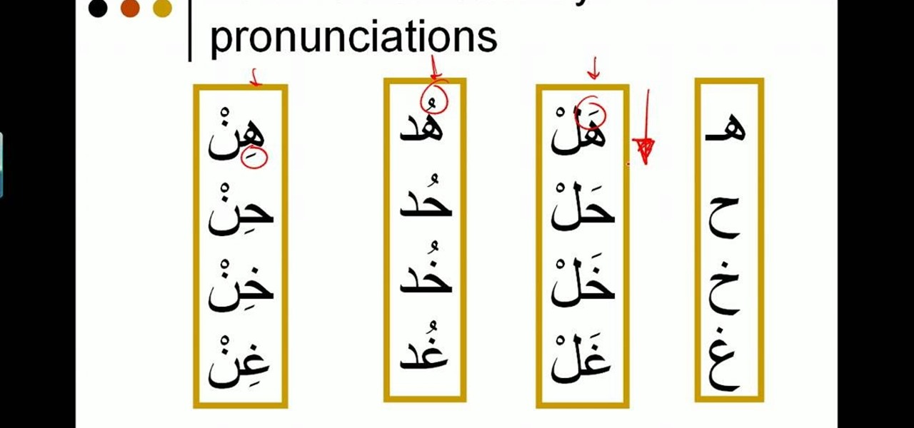 Arabic and Hebrew type