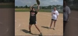Do a wrist warmup drill for softball pitching