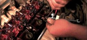Adjust the valves on a 1996 Honda Civic