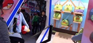 Angry Birds Arcade Booth in Guangzhou, China
