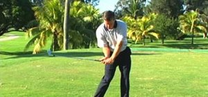 Use a good delivery position in your golf swing