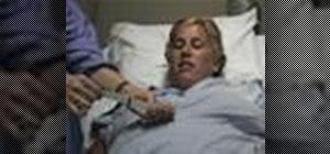 Do external fetal monitoring in obstetrics nursing