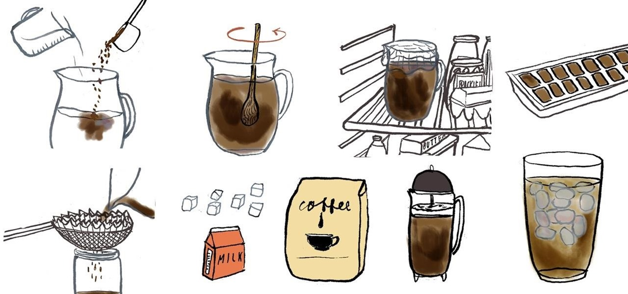 Cold-Brew Perfectly Refreshing Iced Coffee at Home