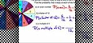 Use a spinner to solve math probablity problems