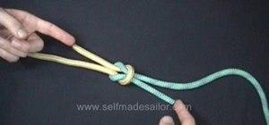 Tie a Thief Knot